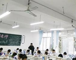 山东蓝悦光电科技有限公司走进渤海中学建设护眼校园